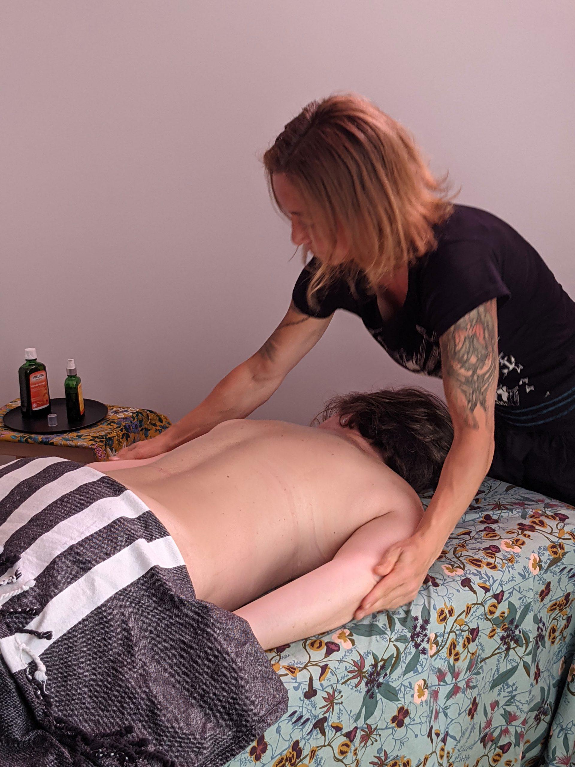 Massage lacher-prise